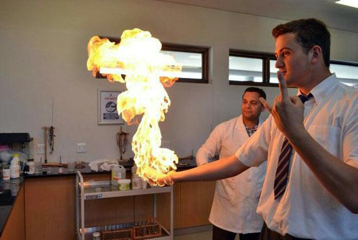 Занимательная химия.