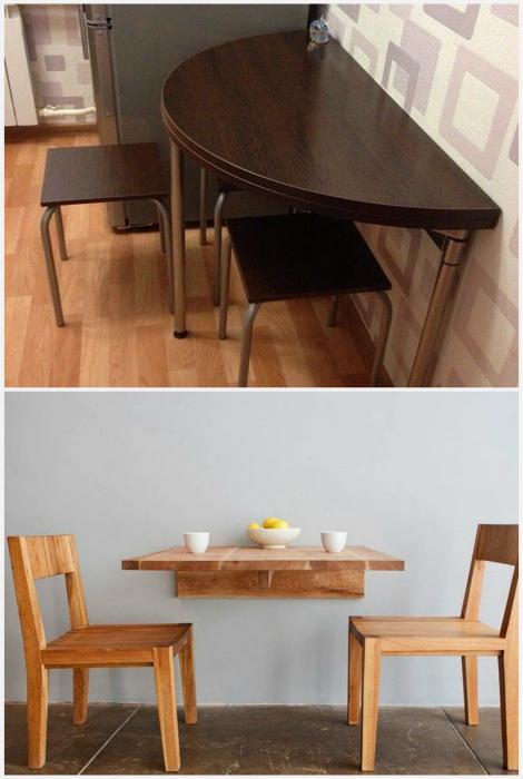 Мини-стол для завтраков. | Фото: Pinterest.