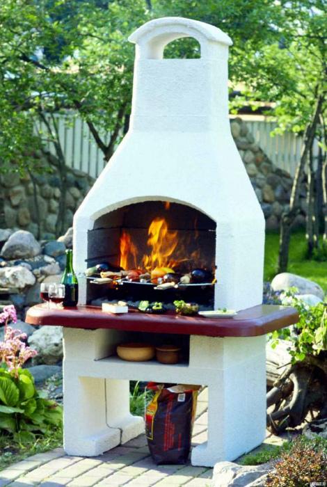 Традиционная глиняная печь.