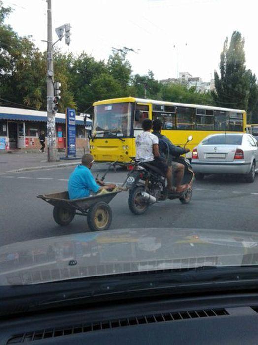 Серьезный транспорт.