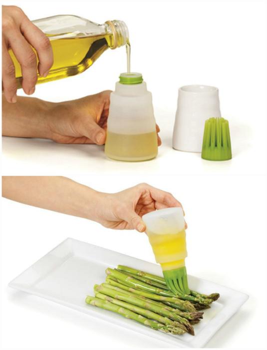 Диспенсер для растительного масла.