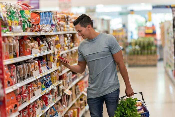 Продуктовые и хозяйственные супермаркеты. | Фото: Pinterest.