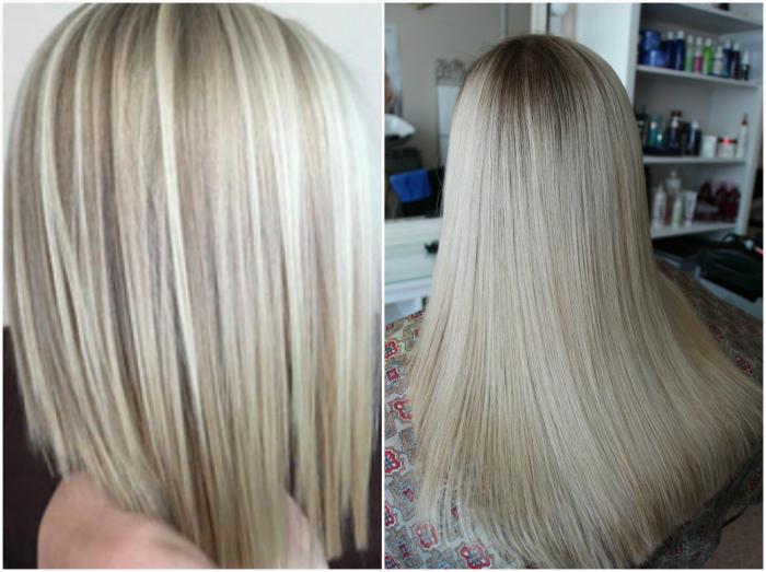 Dim-out - новая техника для блондинок.