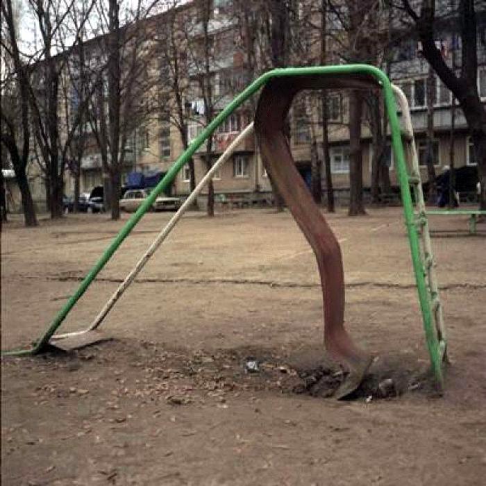 Интеллектуальные качели. | Фото: bibo.kz.