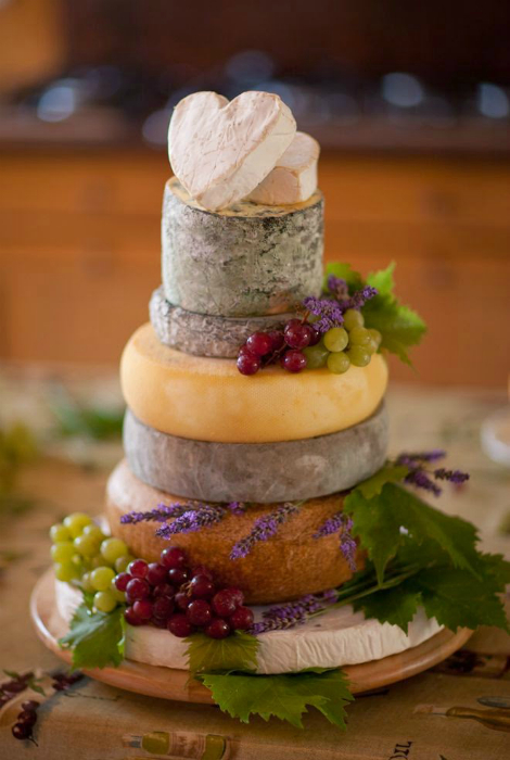 Сырный торт.