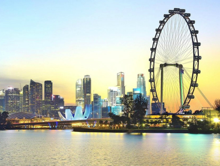Развивающийся Сингапур.
