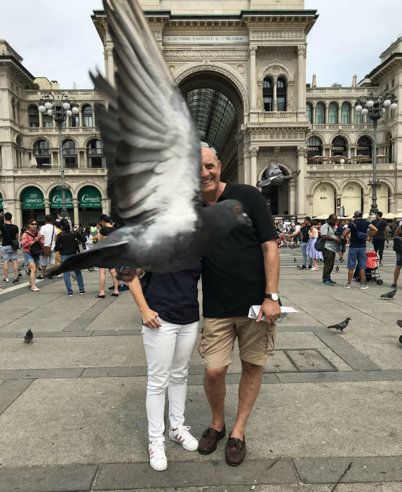 Эффектное фото с голубем. | Фото: Reddit.