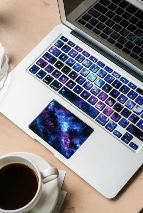 Космическая клавиатура.
