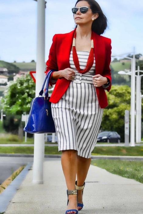 Внимание к выбору деталей. | Фото: Как одеваться стильно женщинам.