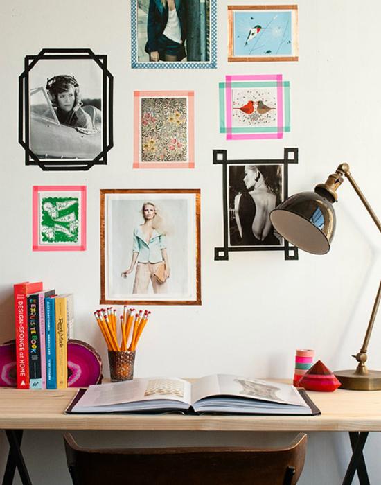 6No-MoneyDecoratingIdeasforWall Декор стен своими руками: 9 красивых идей, 50 фото