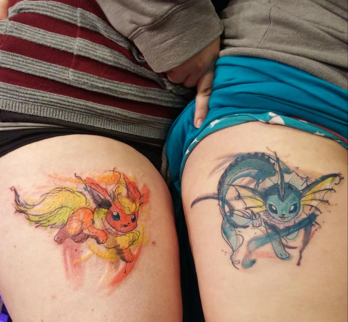 Tatuajes, que simboliza la amistad.