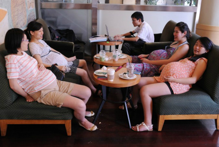 Материальная помощь беременным женщинам.