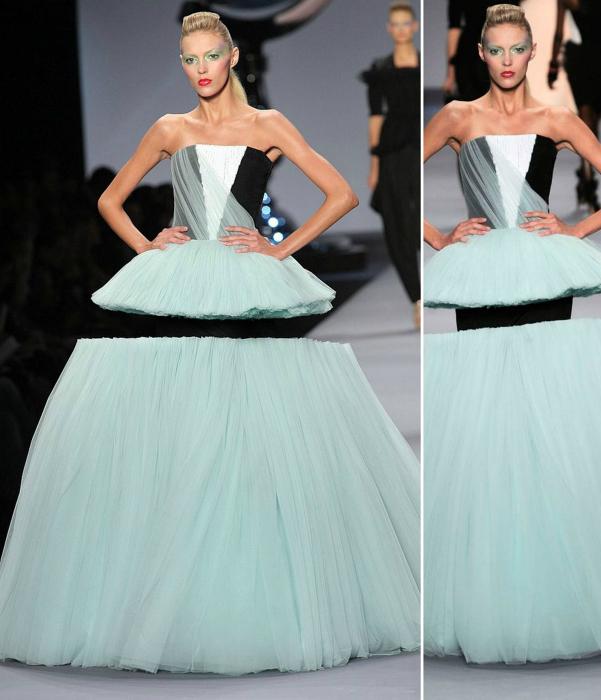 Дизайнерское платье.