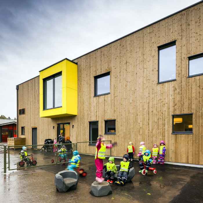 Детский сад в Швеции. | Фото: Lifestyles After 50.