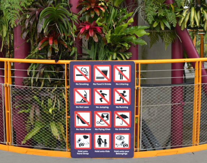 Строгие правила и запреты. | Фото: Fresher.ru.
