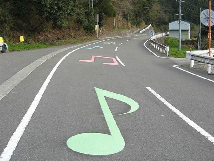 Музыкальный участок дороги. | Фото: Canal Puebla.