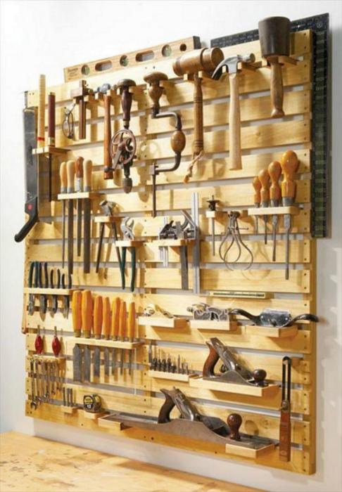 Большой органайзер для инструментов. | Фото: Обалденно.