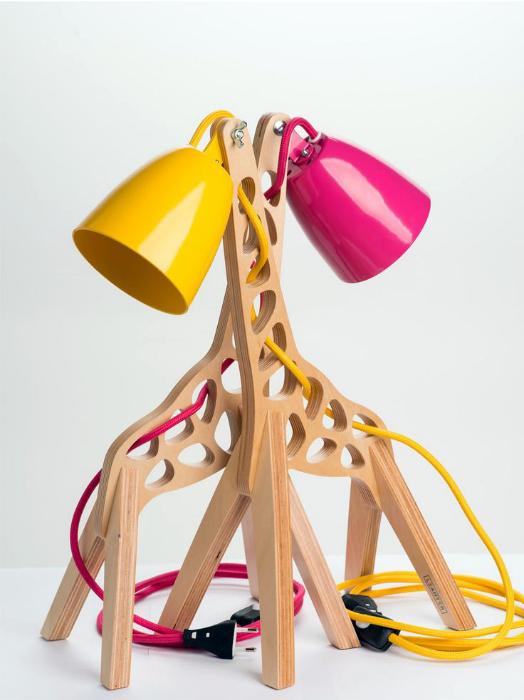 Светильник-жираф от Маркуса Одера.
