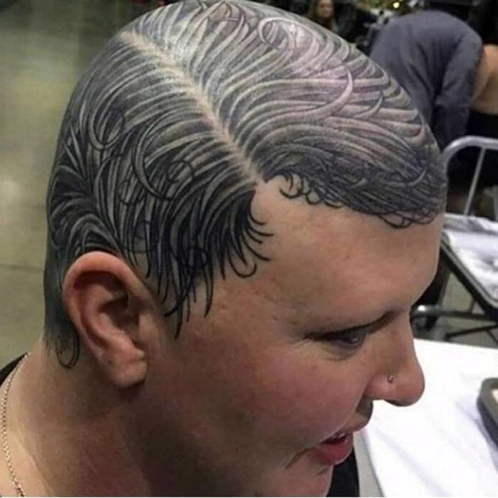 Novate.ru уверяет: не можешь отрастить волосы, набей их.