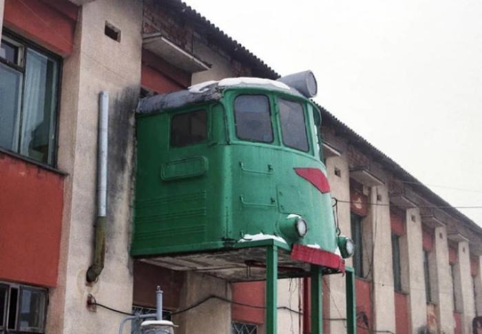 Первый и последний вагон. | Фото: Телеграф.