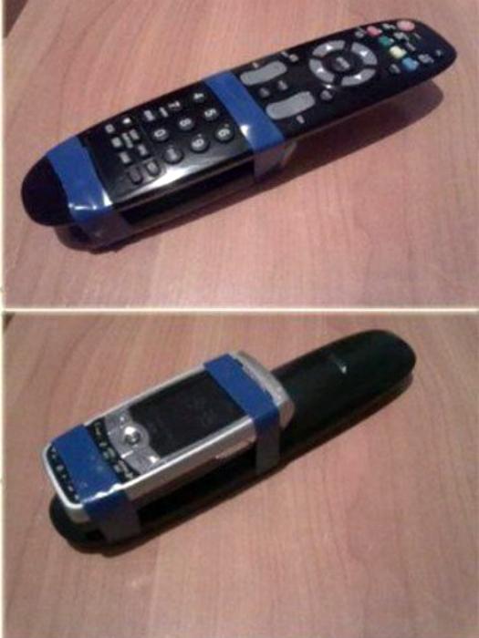 Пульт с телефоном.