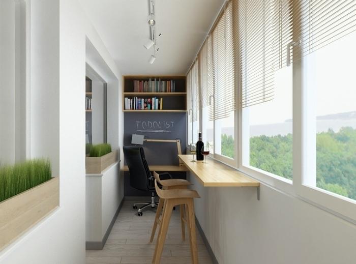 19 крутых идей обустройства небольшой лоджии в городской ква.