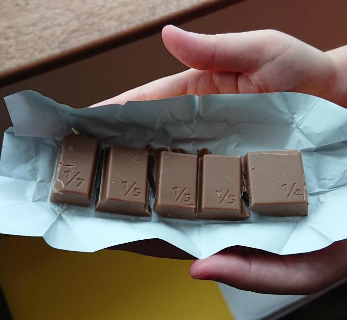 Математическая шоколадка. | Фото: memes.