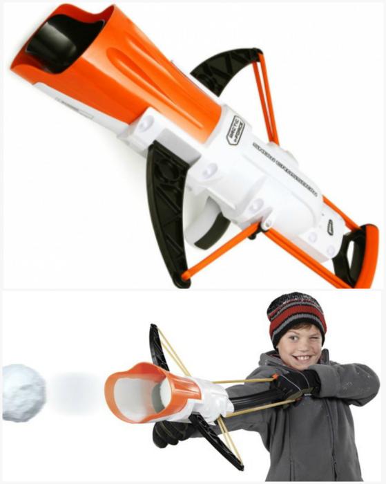 Снежный арбалет Snow Crossbow.