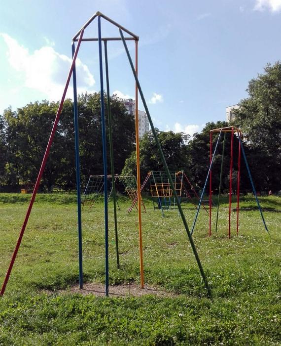 Современные детские площадки.