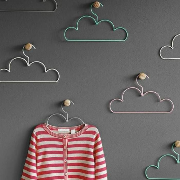Вешалки-облака.
