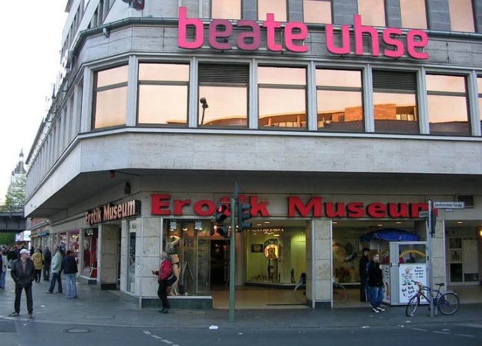 Музей эротики, Берлин, Германия.