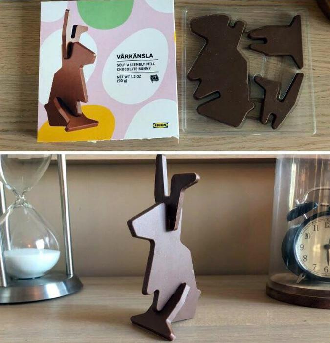 Шоколадная фигурка-игрушка. | Фото: 24Warez.Ru.