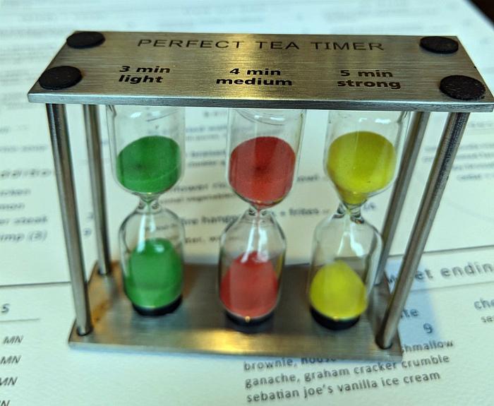 Песочные часы для заваривания чая. | Фото: AdMe.