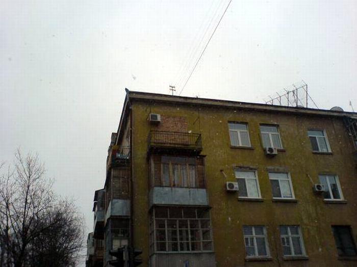 Замурованный балкон.