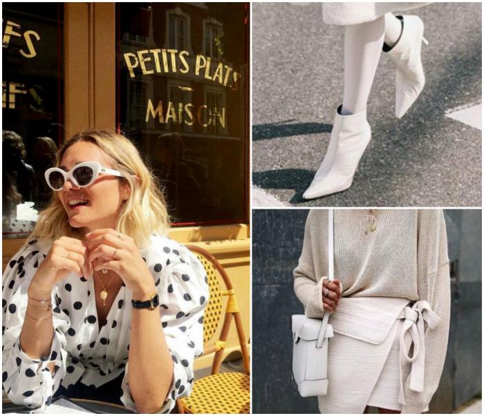 Обувь, сумки и очки белого цвета. | Фото: Шкатулка красоты, Subscribe.Ru, edni.net.