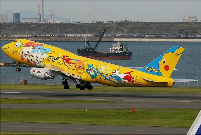 Самолет Pokemon Jet. | Фото: Pinterest.