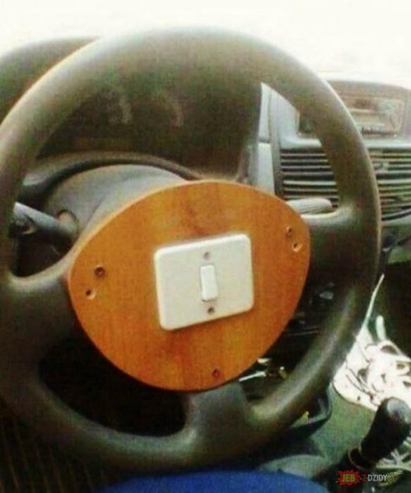 По мнению Novate.ru, это самый креативная кнопка сигнала. | Фото: Pinterest.