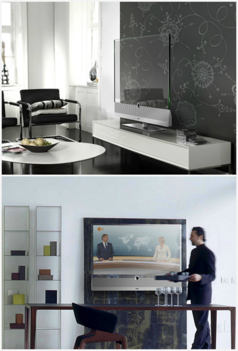 Прозрачный телевизор Panasonic.