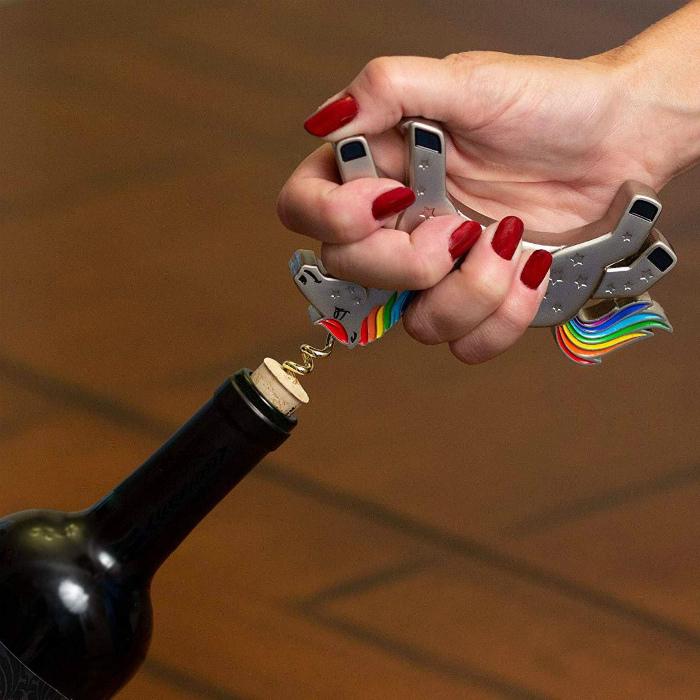 Штопор в виде единорога. | Фото: Unicork.