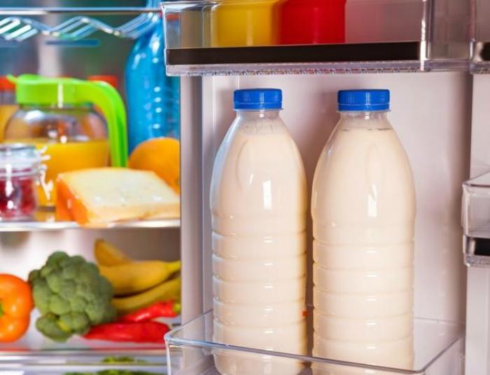 Неправильное хранение молока.