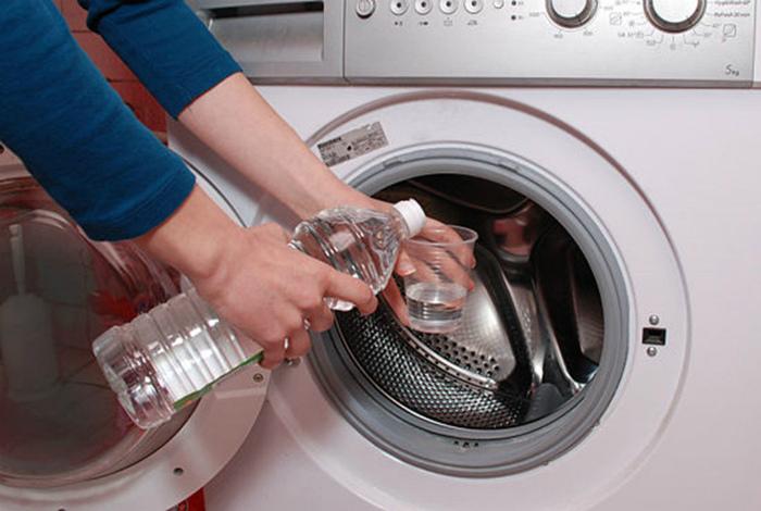 Очистка барабана стиральной машины.