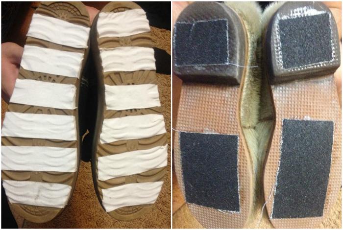 Сделать зимнюю обувь безопасной.