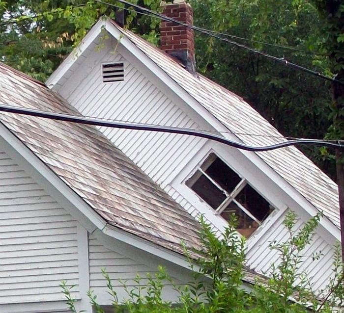 Ведьмино окно в американских домах. | Фото: Imgur.