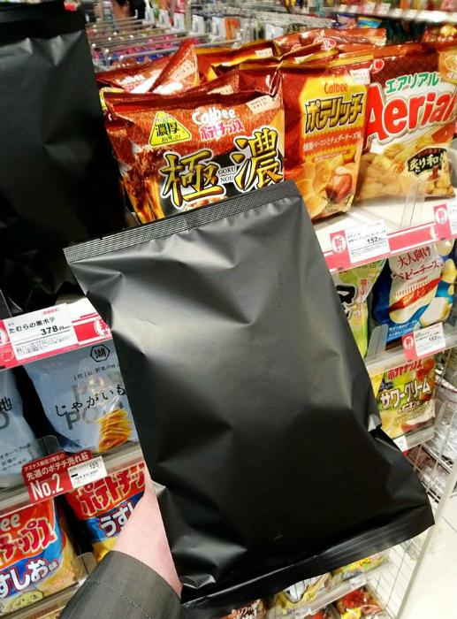 Загадочные японские чипсы. | Фото: AdMe.