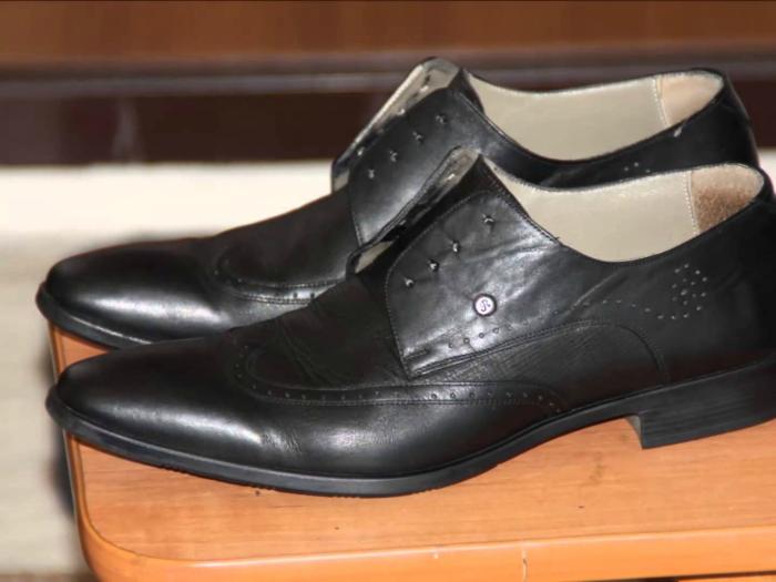 Капроновые тряпки для полировки обуви.