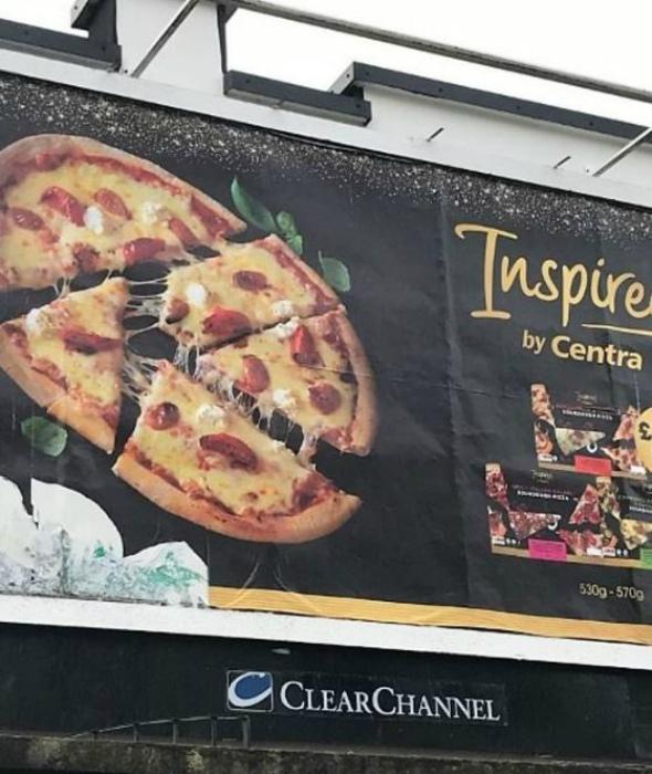 Что за вандал резал эту пиццу. | Фото: Guioteca.