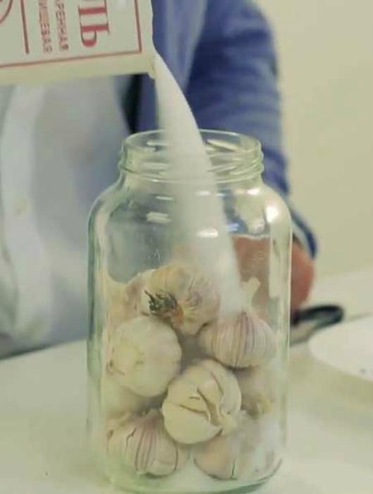 Сохранить свежесть чеснока. | Фото: Вкусные вкусности.
