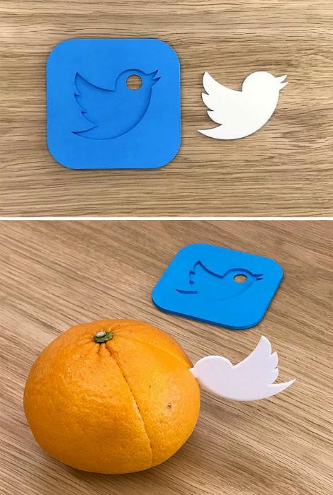 Логотип Twitter.