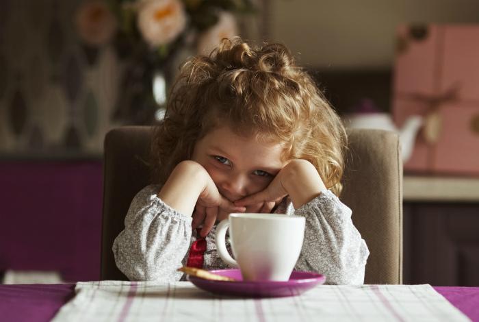 Если ребенок пьет кофе, он не вырастет.