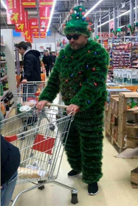 Мой наряд на весь декабрь. | Фото: Pressa.tv.